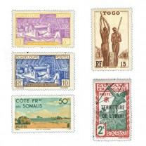 Timbres Colonies - Lot de 200 timbres*