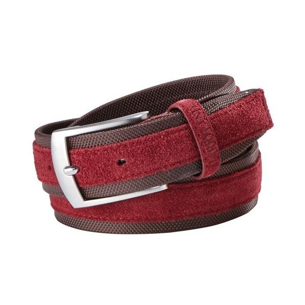 ceinture cuir sport harryland bordeaux acheter l offre de fashion l homme moderne l homme