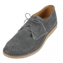 Derbys Cuir Velours