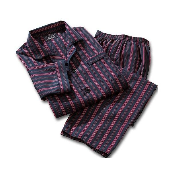 Pyjama Flanelle Rayures Club