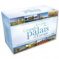 Coffret DVD Les Plus Grands palais d'Europe