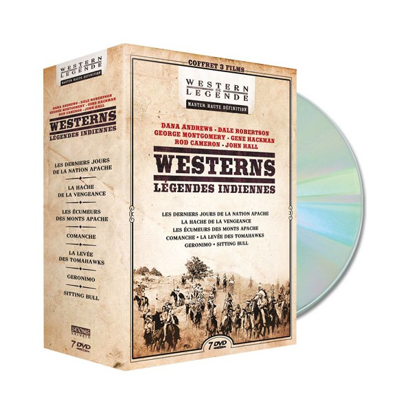 Coffret DVD Westerns, Légendes indiennes