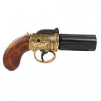 Le revolver anglais 6 canons 1840