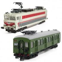 Les deux locomotives