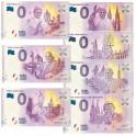 Les 7 billets Papes