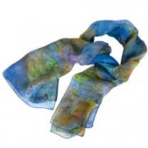Le foulard Danseuses bleues inspiré de Degas