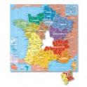 Le puzzle Carte de France