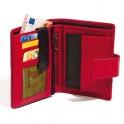Portefeuille cuir bicolore anti-RFID