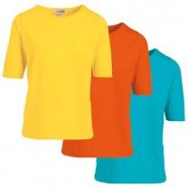 Tee-shirts pur coton tendance - les 3