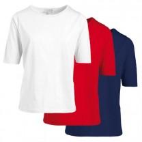 Tee-shirts pur coton classique - les 3