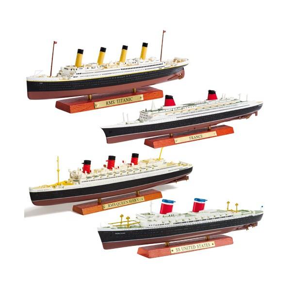 Les quatre paquebots