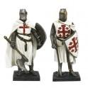 Les deux chevaliers du Moyen Âge