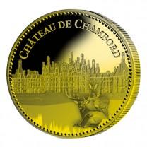 Château de Chambord dorées à l'Or fin