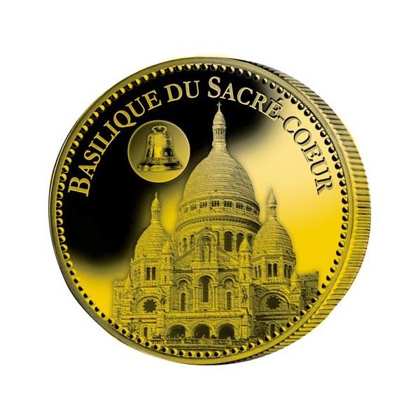 Basilique du Sacré-Cœur dorées à l'Or fin