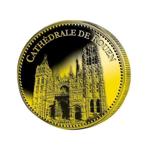 Cathédrale de Rouen dorées à l'Or fin
