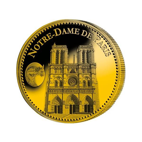 Notre-Dame de Paris dorées à l'Or fin
