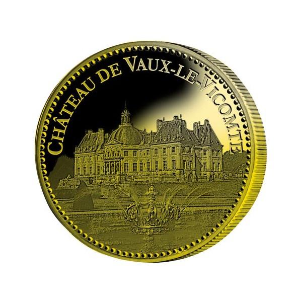 Château de Vaux-le-Vicomte dorées à l'Or fin