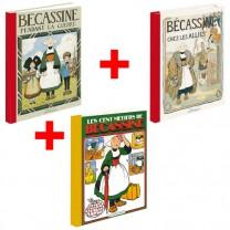 Lot de 3 ouvrages Bécassine : Guerre + Alliés + Métiers