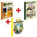 Lot de 3 ouvrages Bécassine : École + Pensionnaires + Automobile