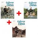 Lot de 3 ouvrages La Guerre des Lulus : Tomes 1, 2 et 3