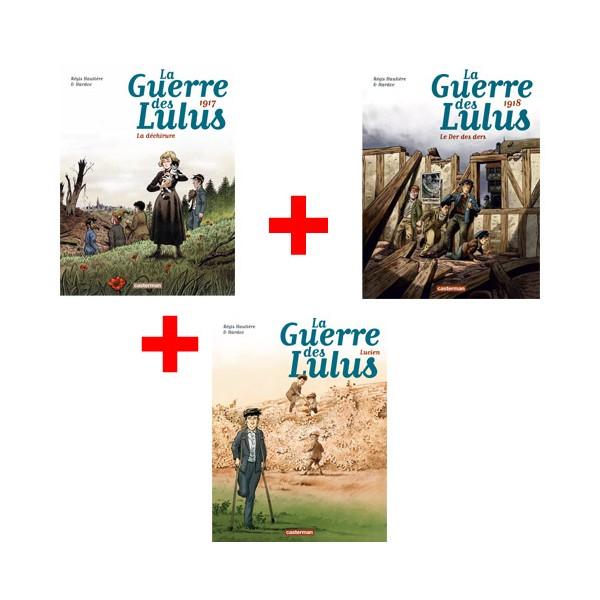 Lot de 3 ouvrages La Guerre des Lulus : Tomes 4, 5 et 6