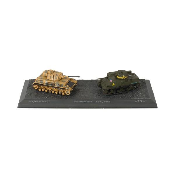Duo de chars La bataille de Kasserine (1943)