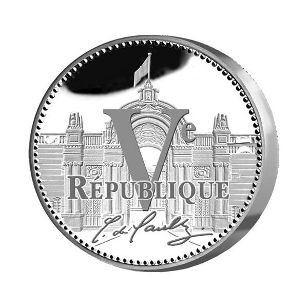 Médaille Souvenir Charles de Gaulle Argent