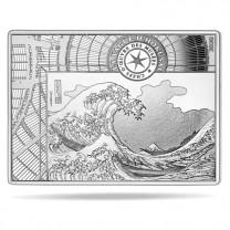 10 Euro Argent France BE 2020 - La Vague d'Hokusai