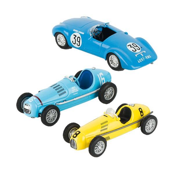 Les trois maquettes Gordini