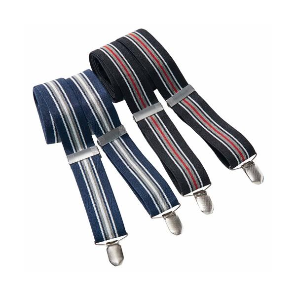 Bretelles rayées - les 2 paires