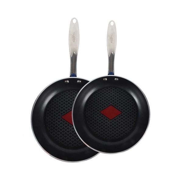 Les 2 poêles thermo-control - Ø 24 et 28 cm