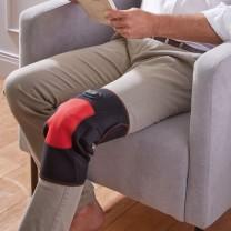 Masseur chauffant genoux