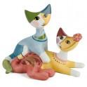 Le couple de chats de Rosina Wachtmeister