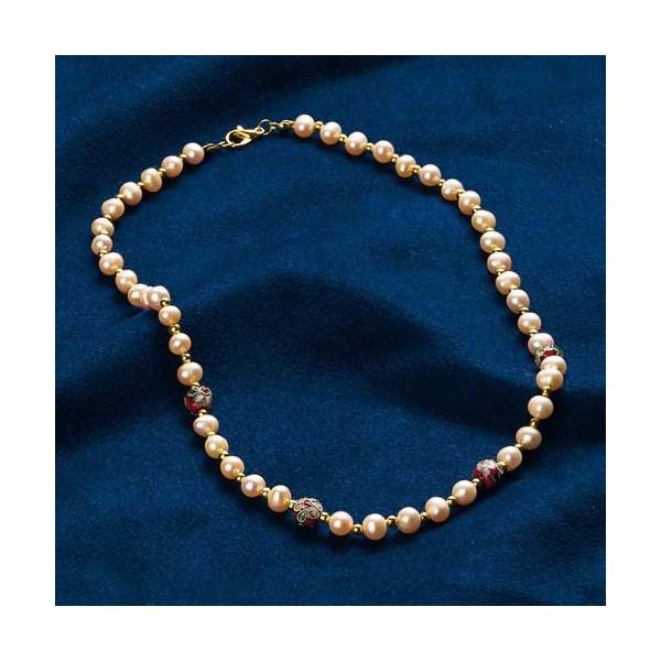 Le collier symphonie de perles