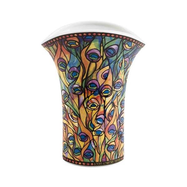 Le vase paon Tiffany