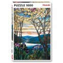 Le puzzle Magnolias et Iris Tiffany