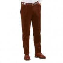 Pantalon velours à pinces