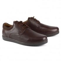 Chaussures coussin d'air + gel lacées