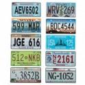 Plaques d'immatriculation U.S - les 10
