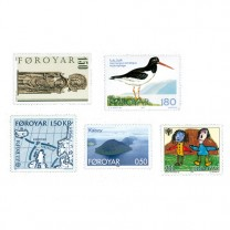 25 timbres les Îles Féroé