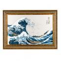 Le tableau La grande vague de Kanagawa