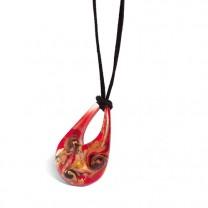 """Le pendentif """"Romantique"""" en verre de Murano"""