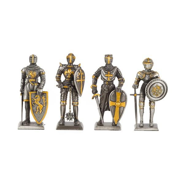 Les quatre chevaliers du Moyen Âge