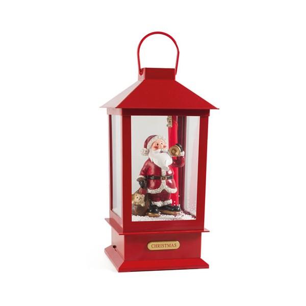 Lanterne musicale «Noël blanc»