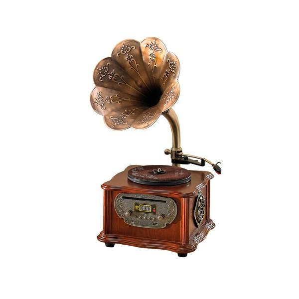 Platine «gramophone» multimédia
