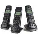 Trio téléphones sans fil