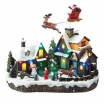 Village de Noël lumineux & musical