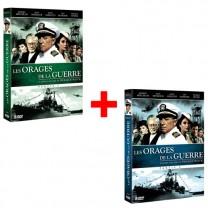 Lot de 2 Coffrets DVD Les Orages de la guerre