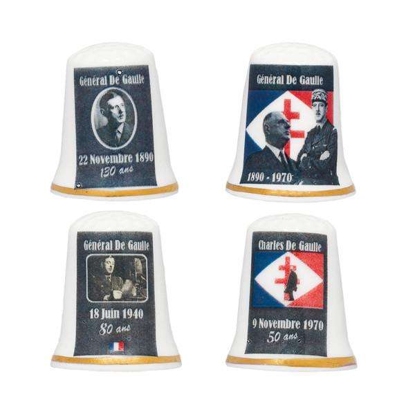Les quatres dés Charles de Gaulle