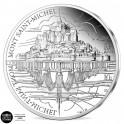La pièce de 10 Euro Argent France BE 2020 - Le Mont Saint-Michel